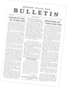 Bar Bulletin